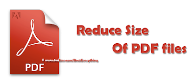 Reduce or compress PDF files easily.