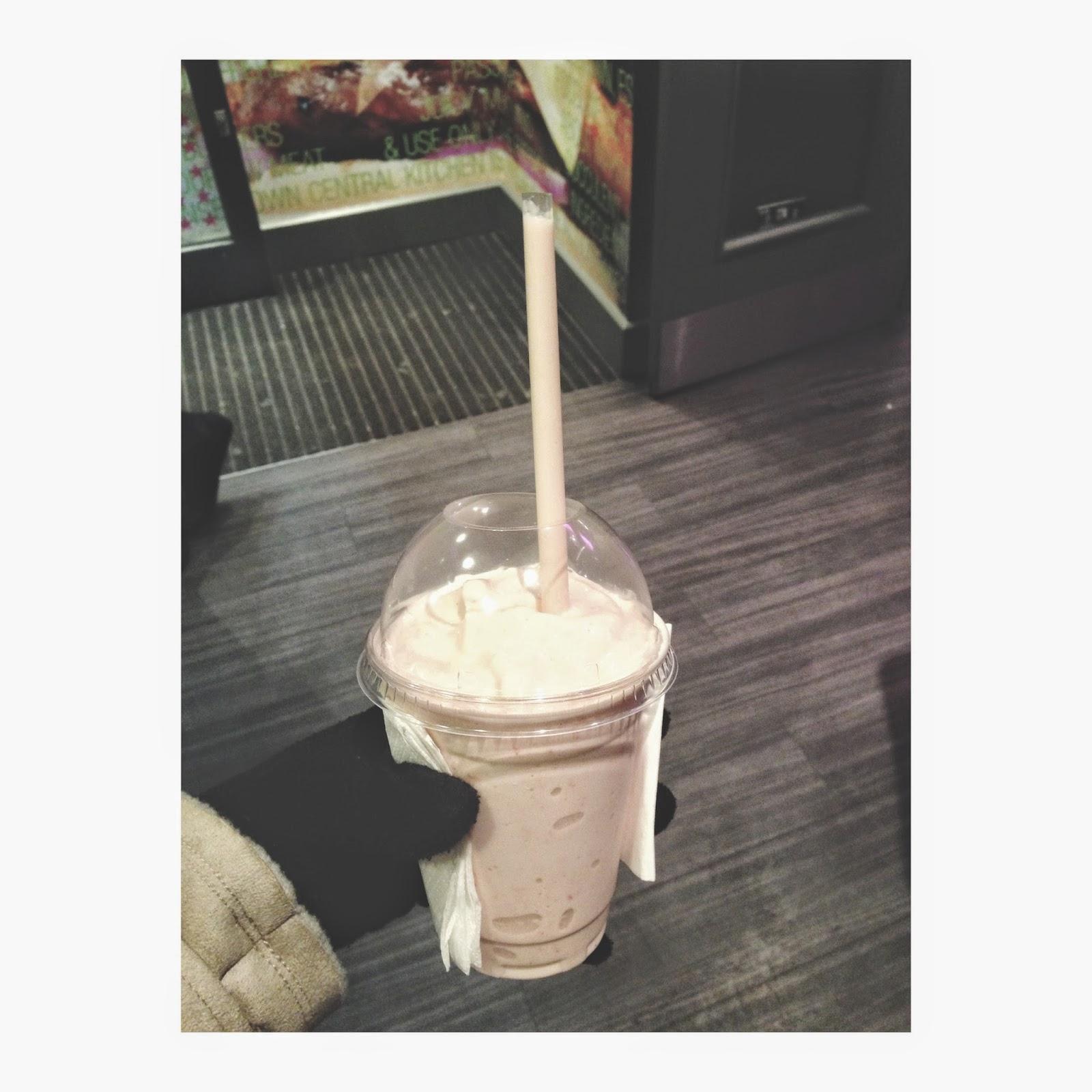Tinseltown Skittles Milkshake