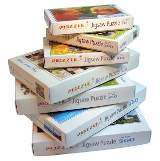 Piczzle Puzzles Stock