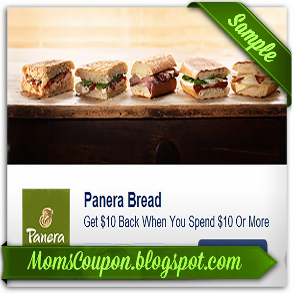 Panera bread printable coupon 2018