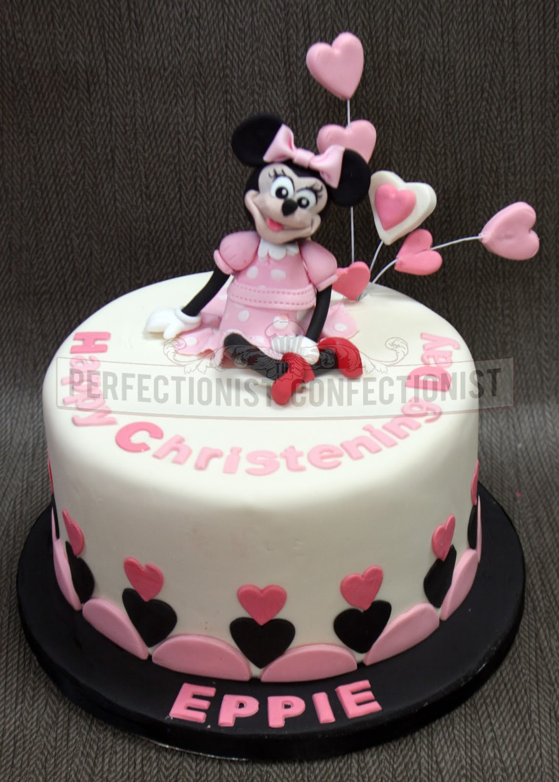 The Perfectionist Confectionist Minnie Mouse