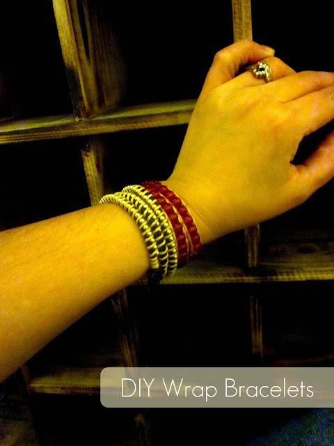 diy bracelets, diy wrap bracelets, bracelet tutorial