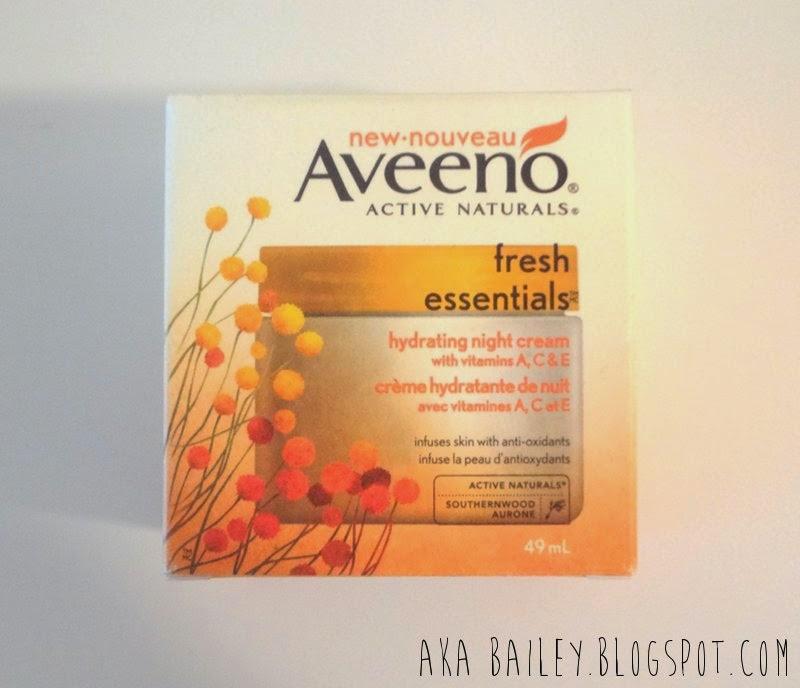 Aveeno Fresh Essentials Hydrating Night Cream