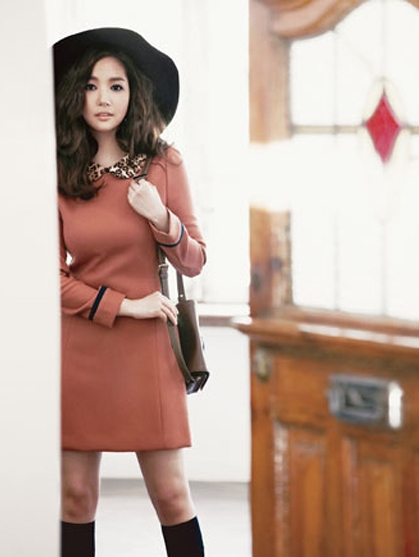 Happiness Is Not Equal For Everyone Park Min Young Compagna Fashion Fall Catalogue Part 1