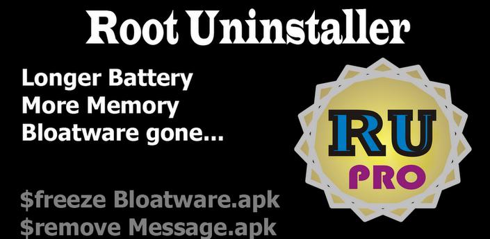 Root Uninstaller Pro v5.6.140421 APK