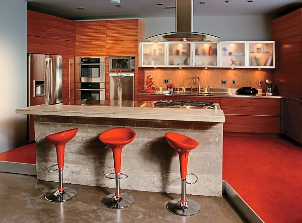 Kitchen Counter Bar Designs