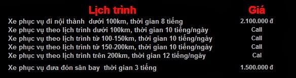 Bảng giá Cho thuê xe 35 chỗ ISUZU SAMCO tại Hà Nội