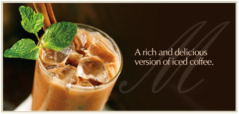 Lindt Chocolate recipe - iced mocha