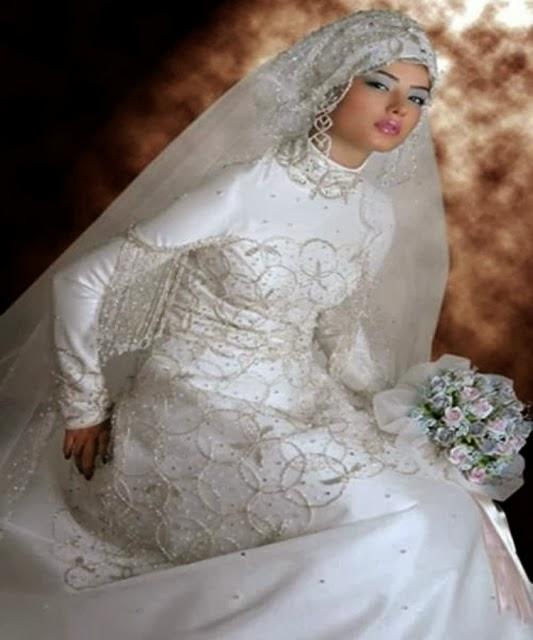 pilihan model kebaya pengantin berjilbab diantaranya model kebaya