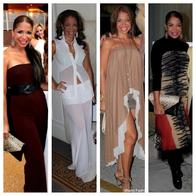 Lissette Rondon wearing Viviana G's designs