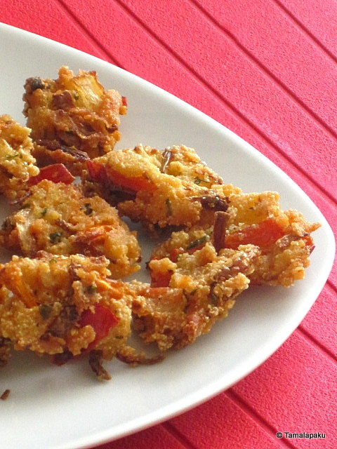 Mixed Vegetable - Rava Pakodi