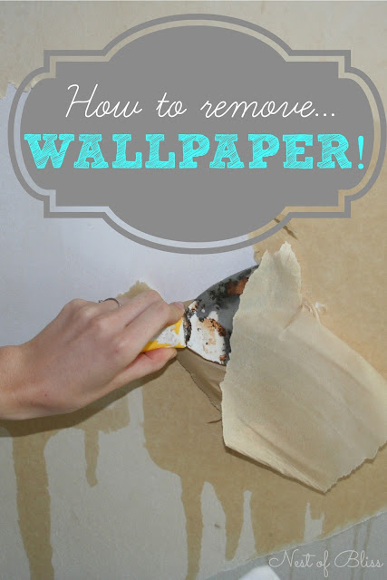 DIY - How To Remove Wallpaper! - Nest of Bliss