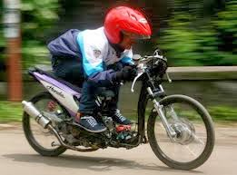 para pengguna motor matik drag indonesia