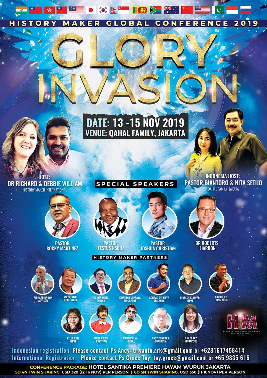 History Maker Global Conference 2019
