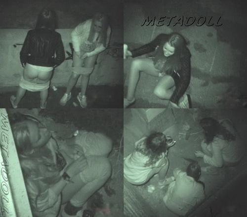 Girls Gotta Go 07 (Spanish Girls Urinating in Public)