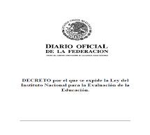 Decreto Ley del INEE