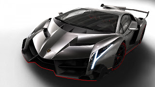 Desktop Wallpaper Car - Lamborghini Veneno