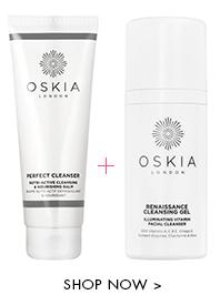 Oferta Oskia regalo 2 limpiadoras: