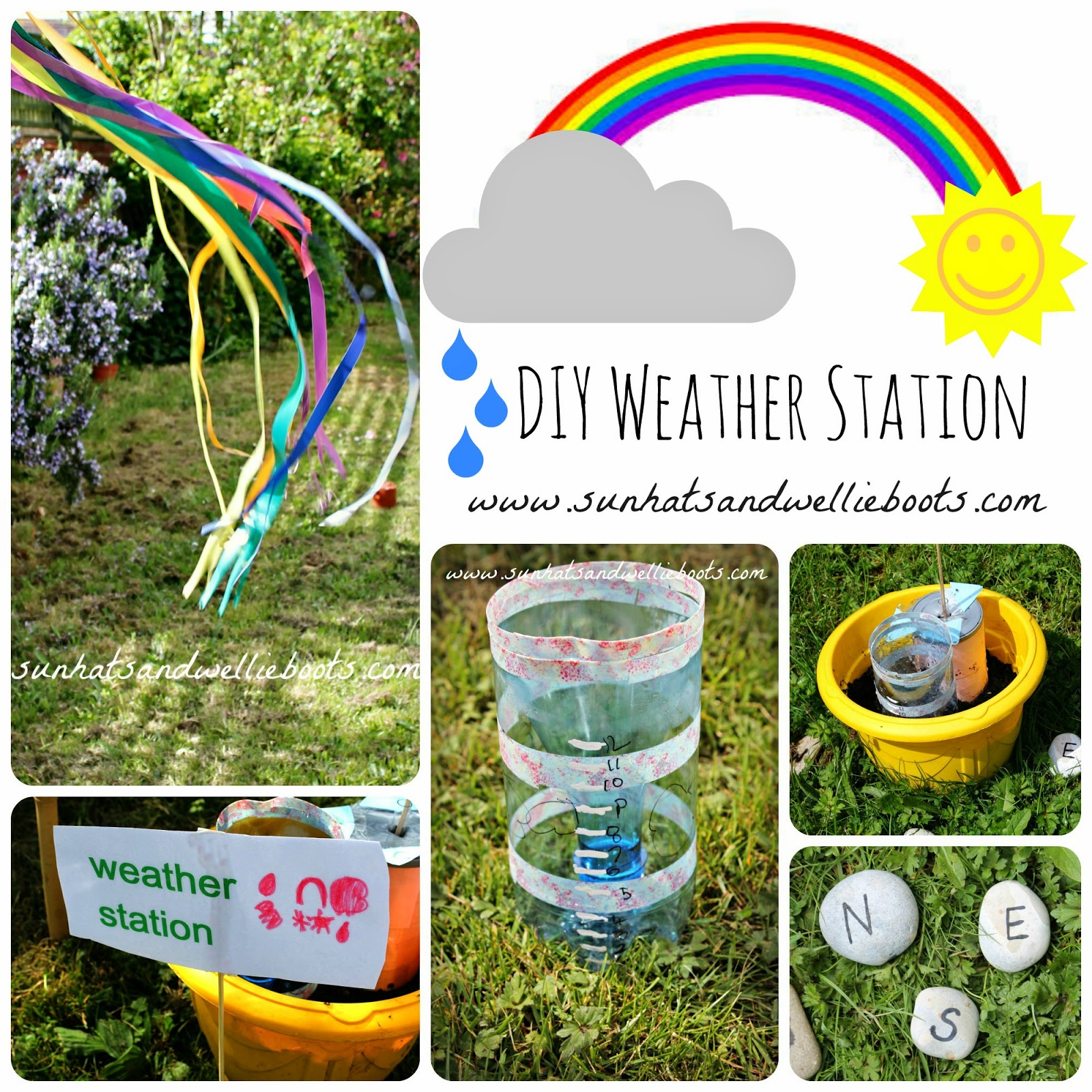we started by making our weathervane using a cylindrical container with a plastic lid we used an old coffee tin wooden skewer - Weather Pics For Kids