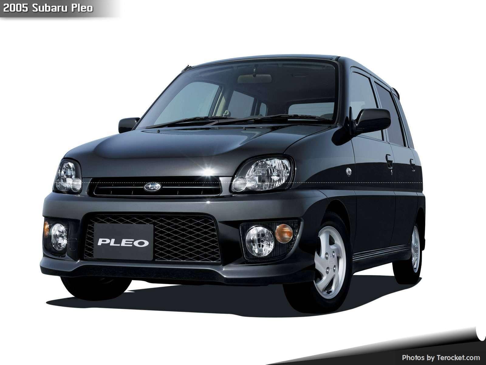 Hình ảnh xe ô tô Subaru Pleo 2005 & nội ngoại thất