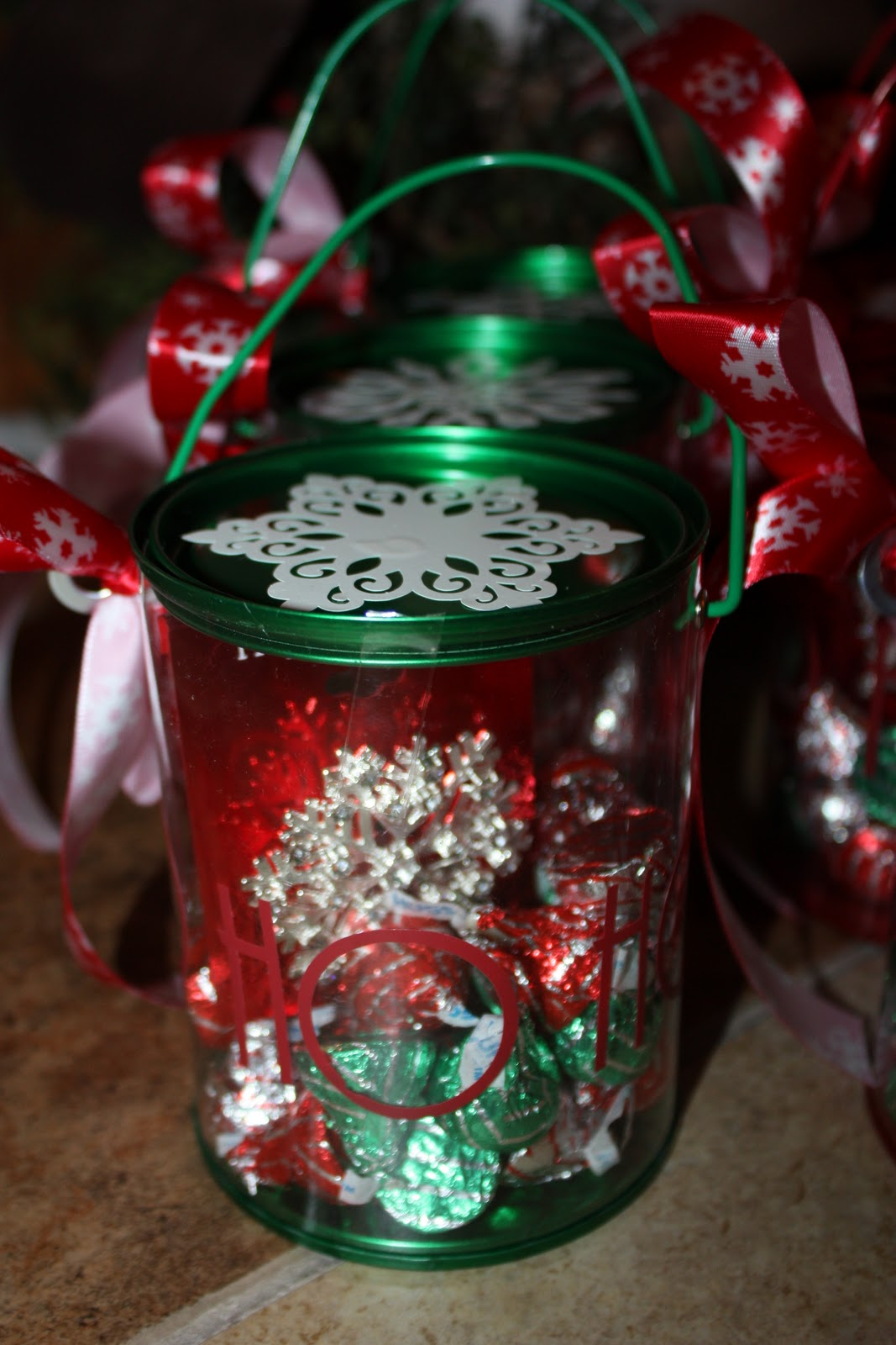 Buckets Of Grace Christmas Paint Can Gift Holders