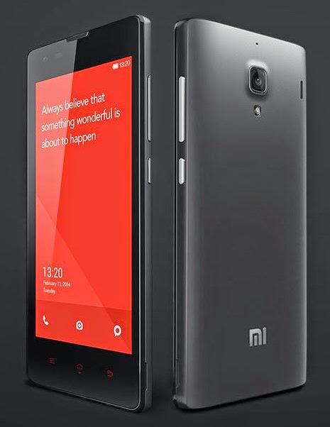 Android bagus Xiomi redmi 1s murah