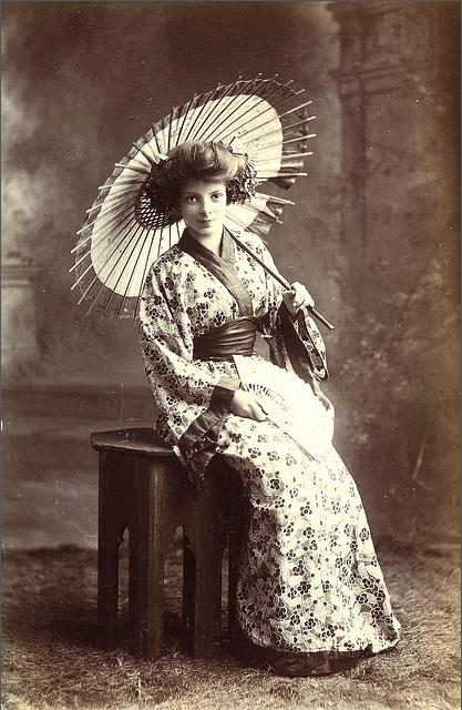 Victorian/Edwardian Kimono #antique #fashion #1900s #1910s #kimono