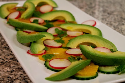 Orange and Cucumber Salad