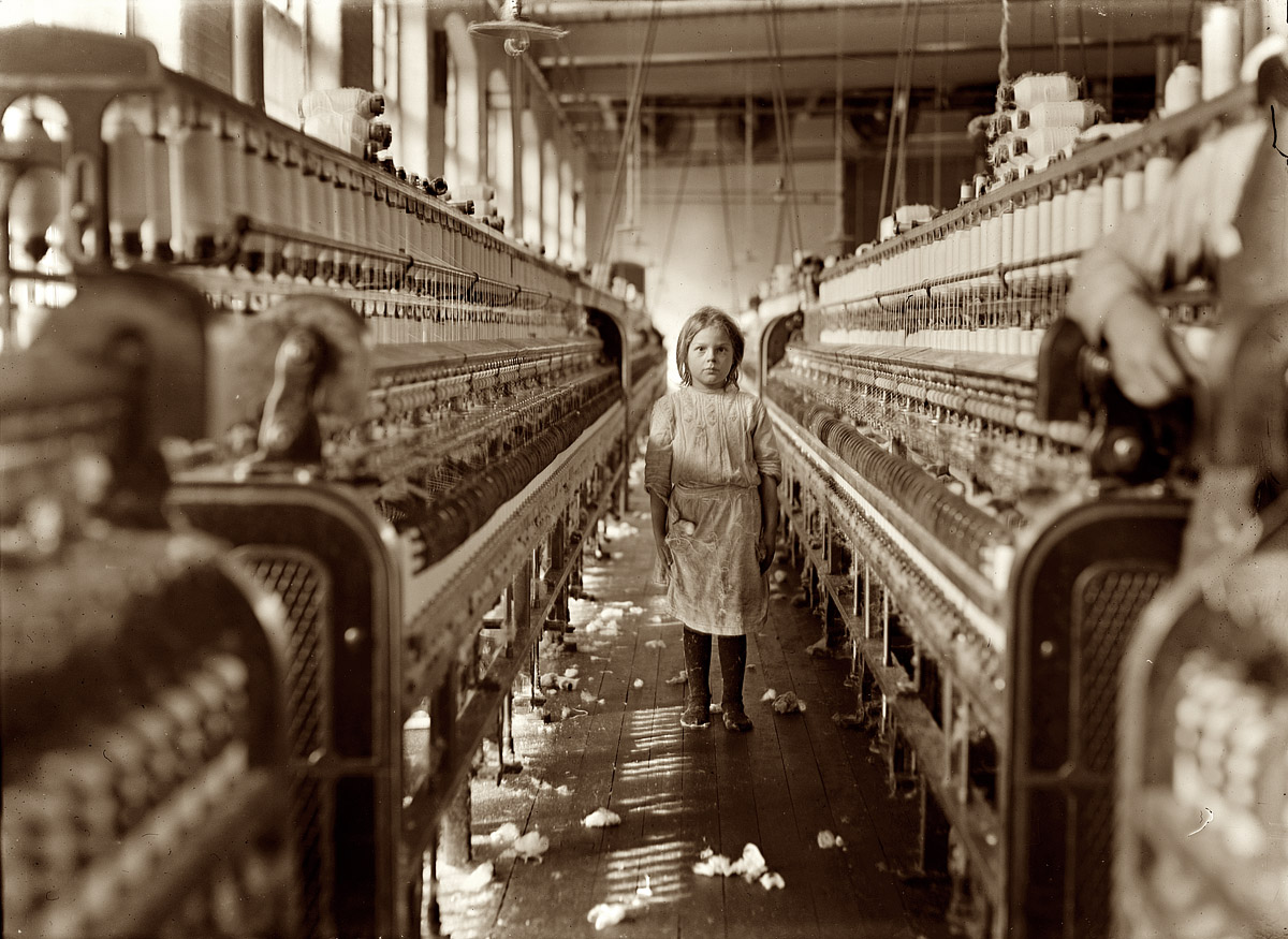 Child Labor Lewis Hine A Prufrock S Iron Your Own Damned