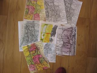 maps Israel