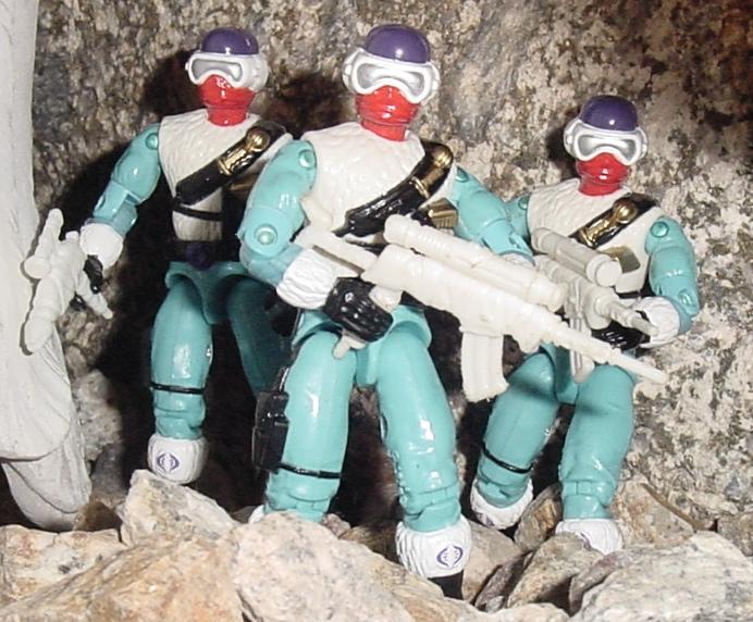 1993 Snow Serpent, Arctic Commandos, Mail Away