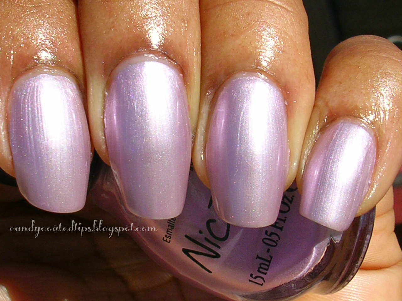 candy coated tips  nicole by opi