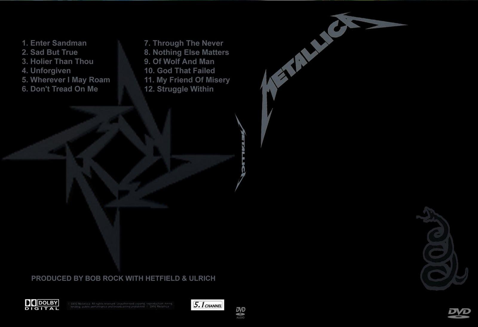 metallica through the never album rar