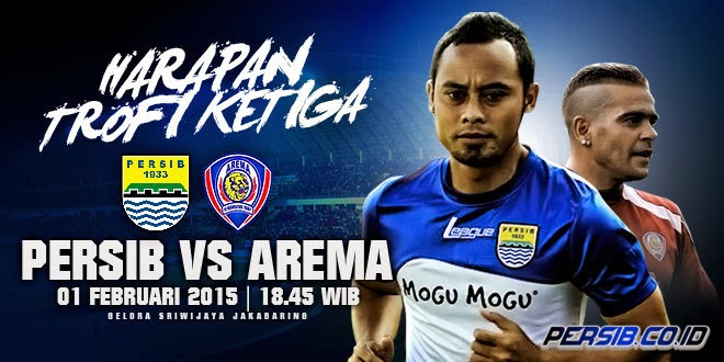 AREMA vs PERSIB Final Inter Island Cup 2015