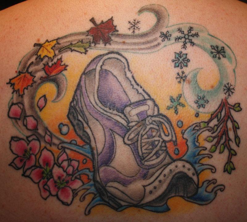 Priya On Twitter New Tattoo Dedicated To My Parents: Dartmouth Running Club, Heart & Sole Running Club