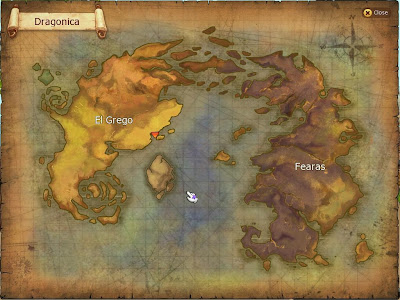 Dragonica - World Map