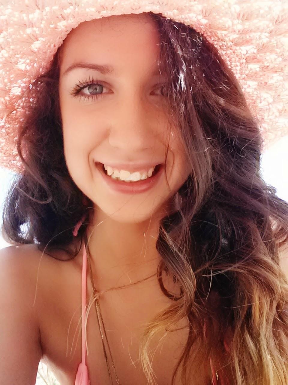 sun hat, pink, pretty, smiles
