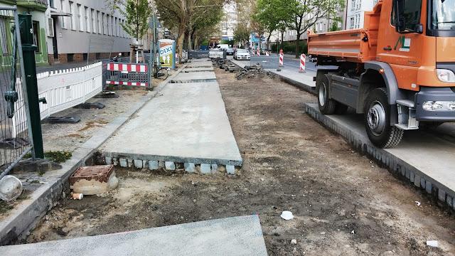 Baustelle Usedomer Straße 7-8, 13355 Berlin, 19.04.2014