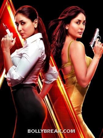 kareena Kapoor in Agent Vinod - 5 Stylish Movie Roles by Bollywood Actresses