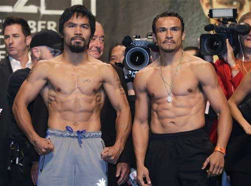 Pacquiao vs Marquez 4 Weigh In Video