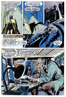 Batman v1 #245 dc comic book page art by Neal Adams