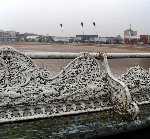 Blackpool Central Pier benches
