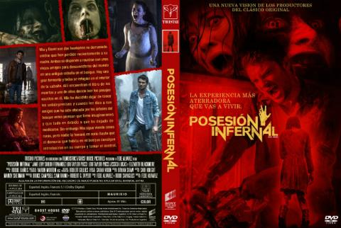 Posesion Infernal Evil Dead DVDR Latino 2013 Terror. Gore