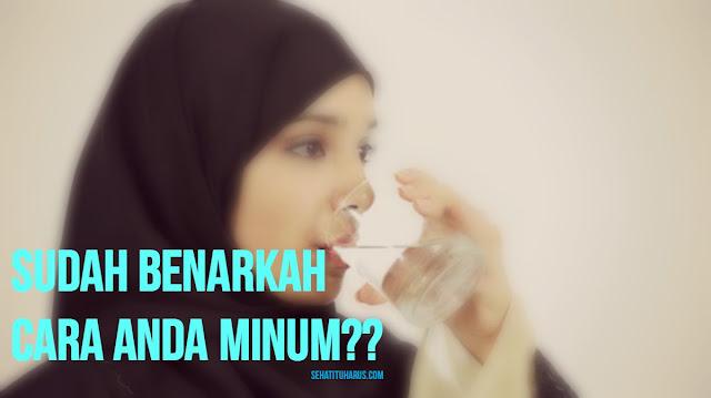 HINDARI 5 Kebiasaan Minum Yang SALAH ini!!