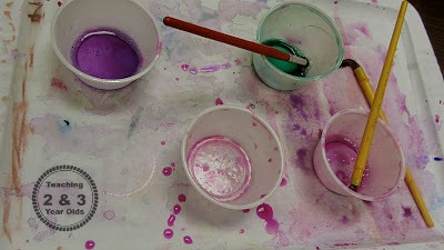 preschool watercolors