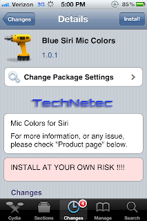 Siri Mic Colors Version 1.0.1