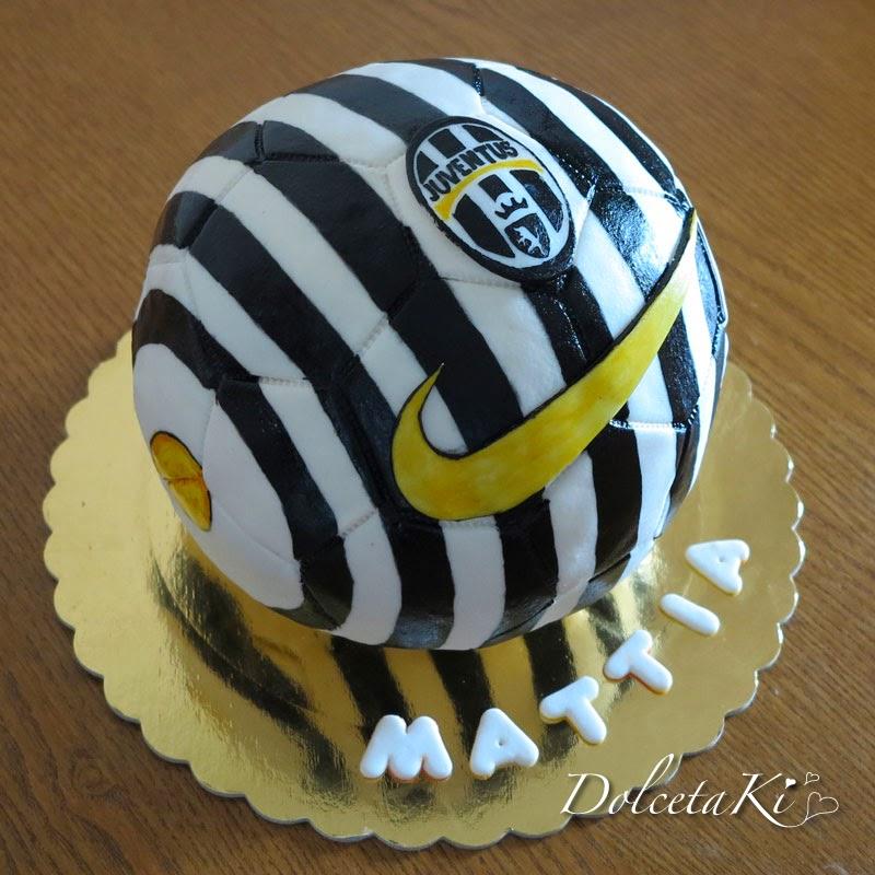 torta pallone juventus