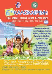 6η Καλοκαιρινή Ενασχόληση Παιδιών Δήμου Μαρκοπούλου