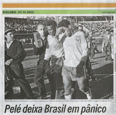 Luiz Fernando Vassallho Guichard, o repórter que sabe de tudo, com Pelé e Garrincha na Copa do Mundo de 1962, no Chile
