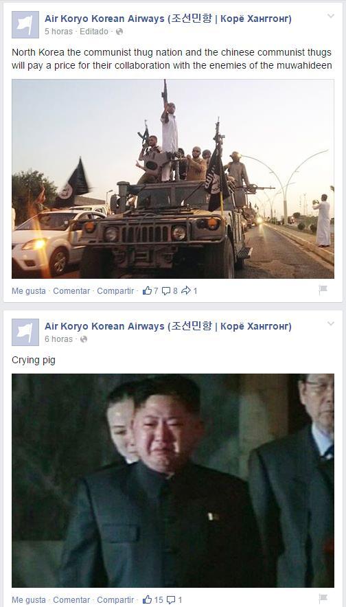 Pirateo islamista a Corea del Norte